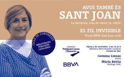 Avui també és Sant Joan Gemma Lienas5 de novembre 2020 - 18:30Biblioteca Martí Rosselló i Lloveras de Premià de Mar